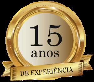 15 anos de experiência aba textos